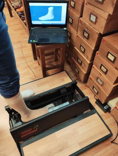 Lo scanner del piede